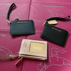 Wristlet wallets.